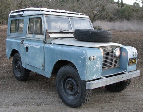 Land Rover Series IIA SWB