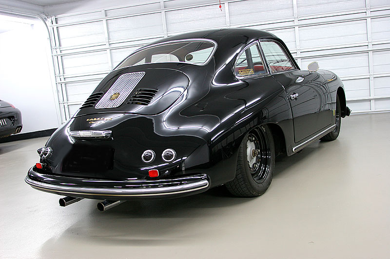 Porsche 356 Steel Wheels Rear