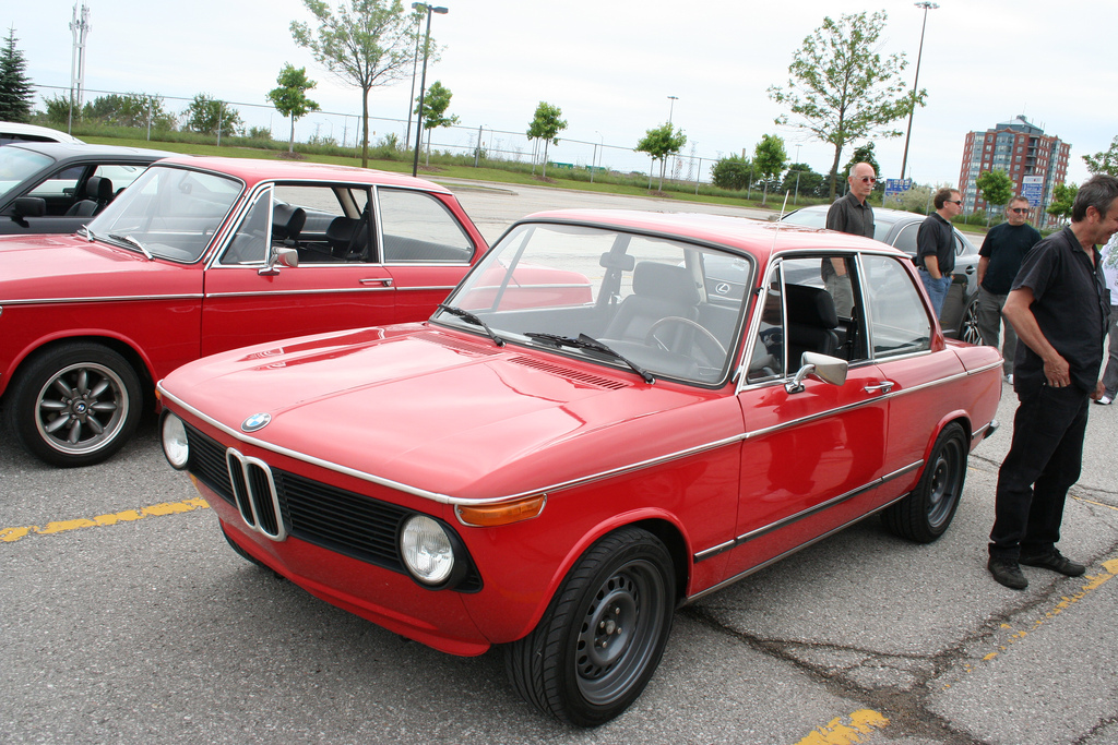 BMW 2002 Steel Wheels