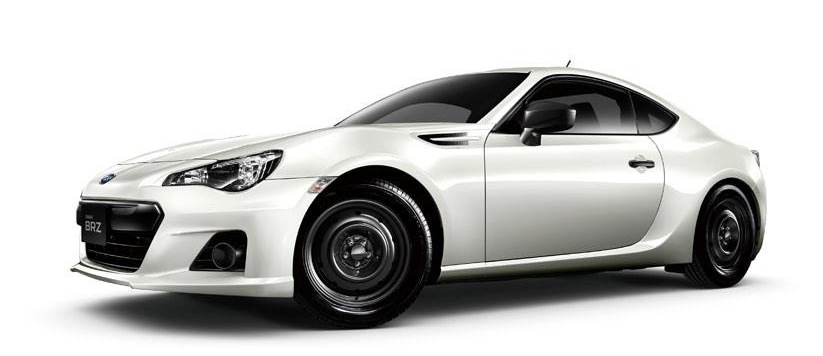 baru BRZ Steel Wheels Front