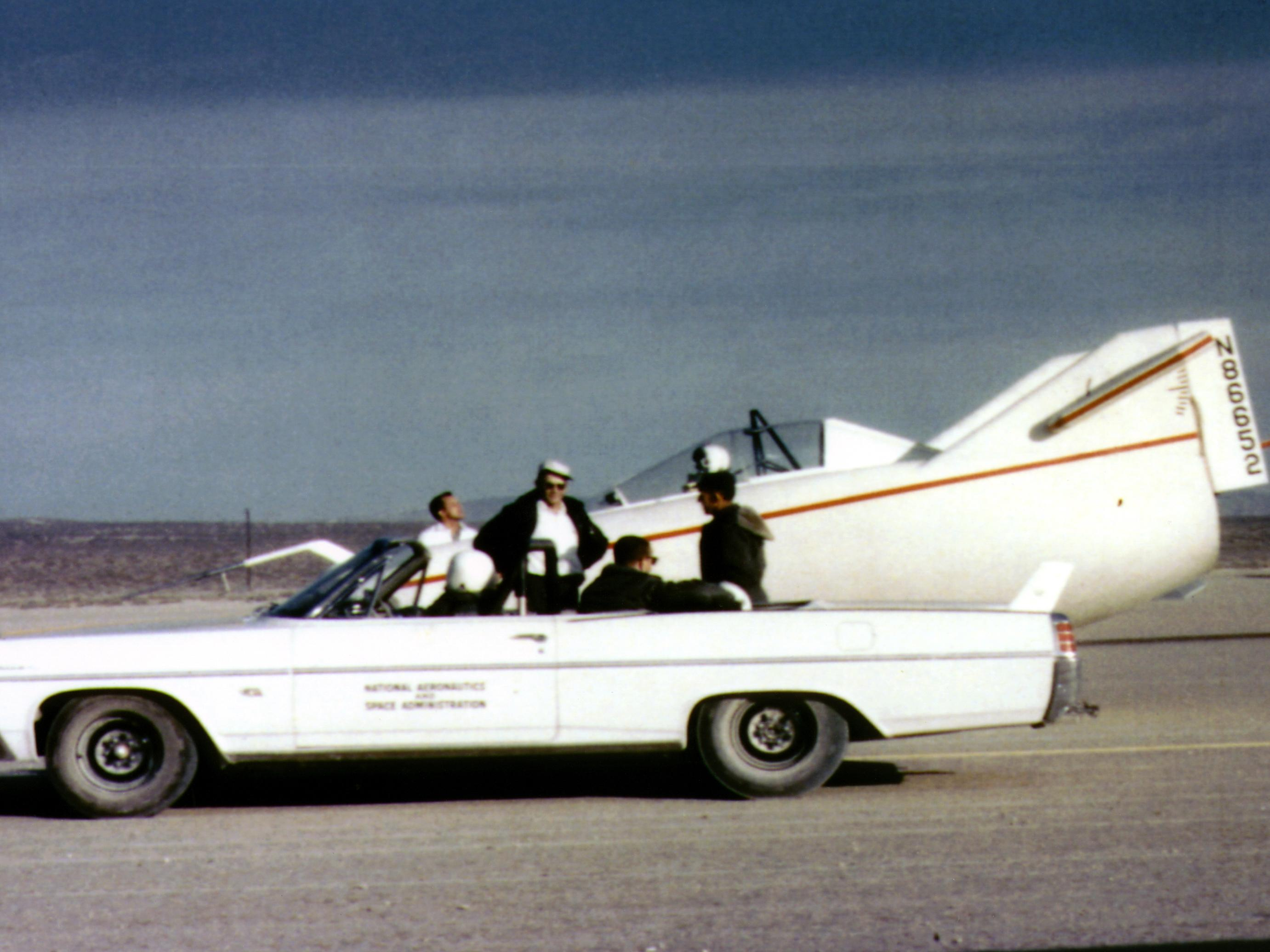 Nasa 1963 Pontiac Catalina
