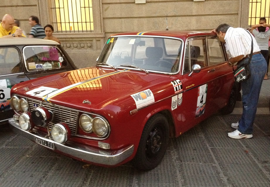 Lancia Fulvia Berlina Rally