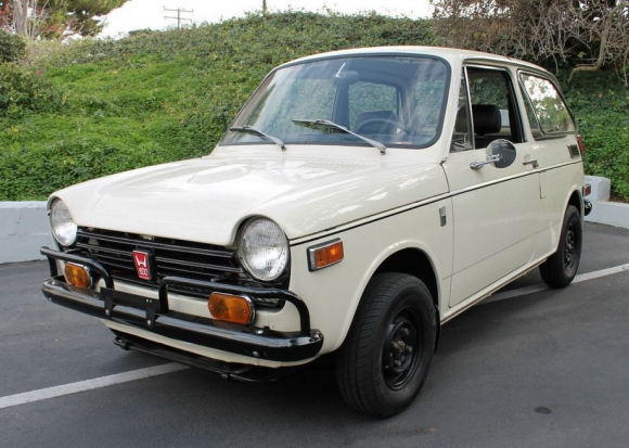 1971 Honda AN600 Black Steelies