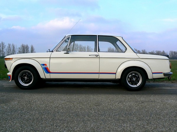 BMW 2002 Turbo Black Wheels